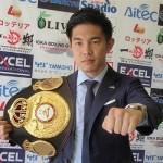 【ボクシング】WBA世界フライ級王者井岡一翔9月27日初防衛戦!